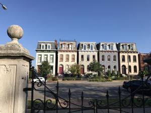 Lafayette Square neighborhood in St. Louis, MO